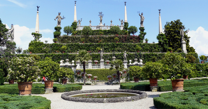 Дворец Борромео ( итал. Isola Bella - красивый остров ) 46057