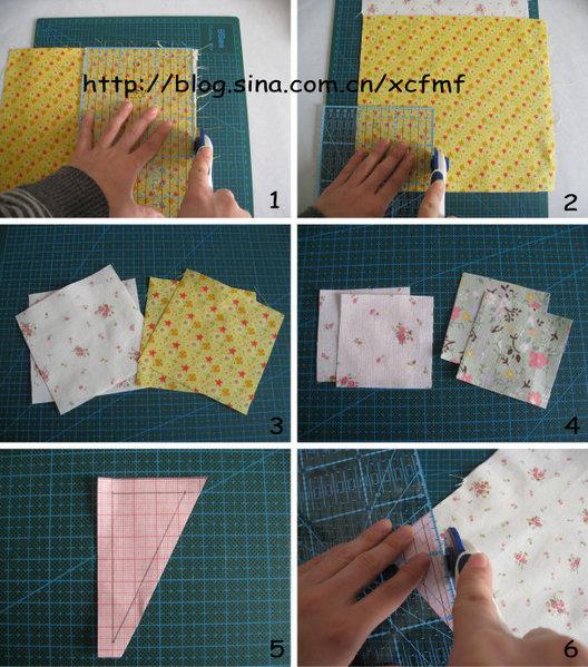 Как лоскутное шитье