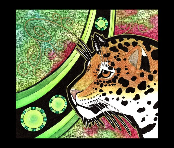 Jaguar_as_Totem_by_Ravenari (600x510, 107Kb)