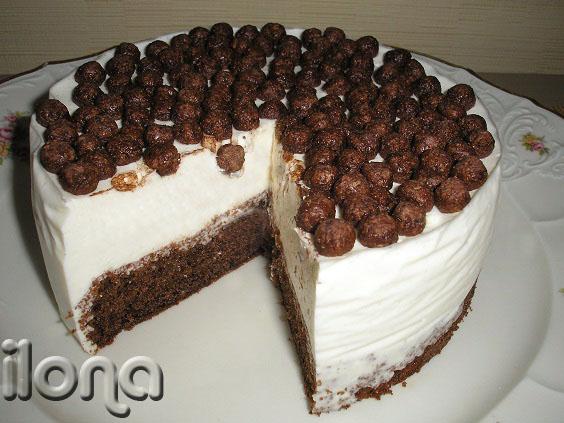 Бисквитный торт своими руками фото