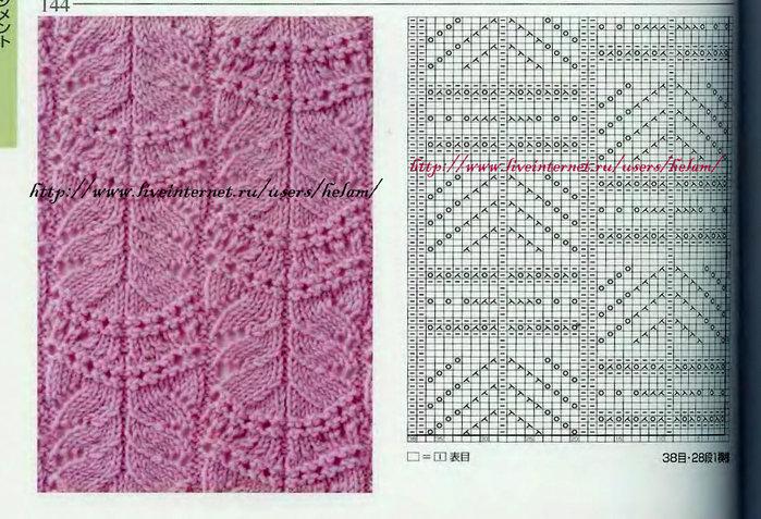 Туника с волнообразным ажуром Wavy Lace Tunic из Nashua Handknits.  Дизайнер - Gayle Bunn.
