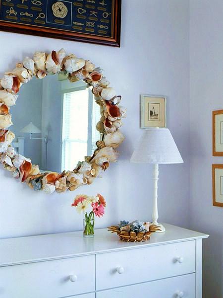 Как оформить зеркало в прихожей своими руками фото