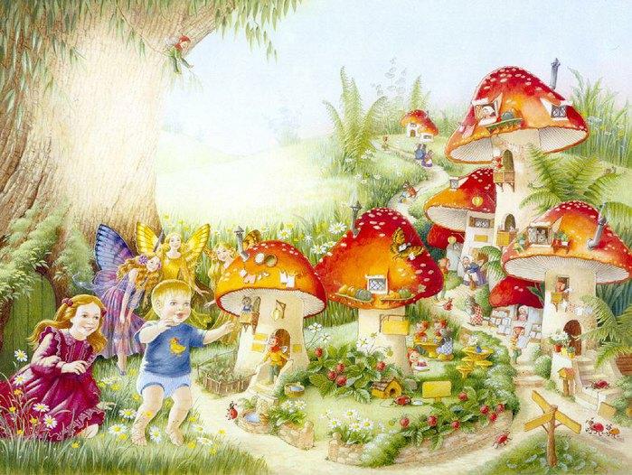 Сказочный мир Shirley Barber