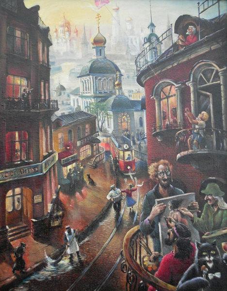 Булгаковская москва (468x600, 96Kb)