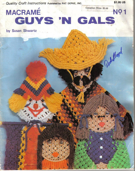 MACRAME GUYS'N GALS (473x600, 160Kb)