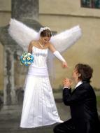 Ангел как подарок на свадьбу 860