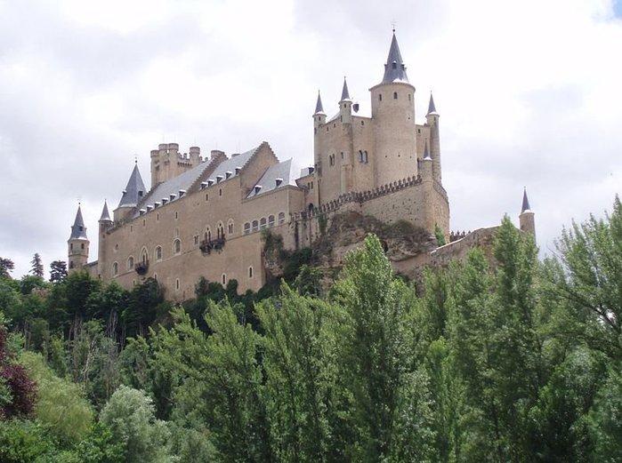 КОролевский замок Алькасар испания сеговия