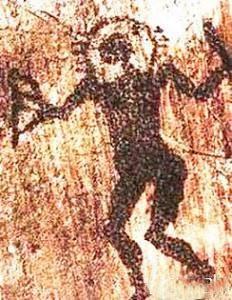 Петроглиф - пришелец 1 (232x300, 28Kb)