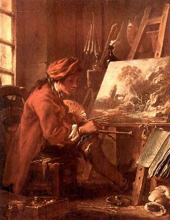 Boucher_Francois_The_Artist_in_his_Workshop_a_Self_Portrait_reproductions_b (336x433, 69Kb)