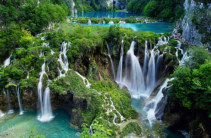 Plitvice Waterfalls  Flickr - Photo Sharing! (700x459, 892Kb)
