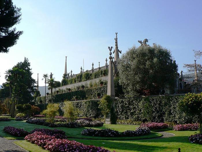 Дворец Борромео ( итал. Isola Bella - красивый остров ) 64741