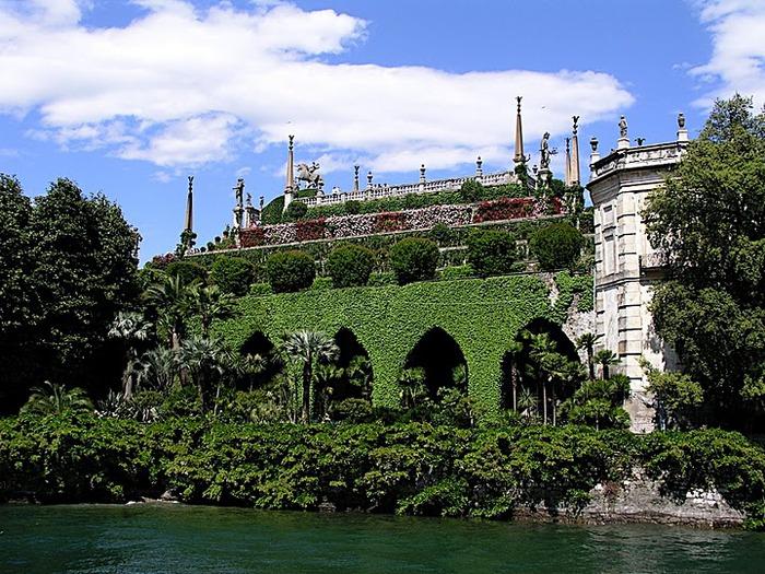Дворец Борромео ( итал. Isola Bella - красивый остров ) 45956