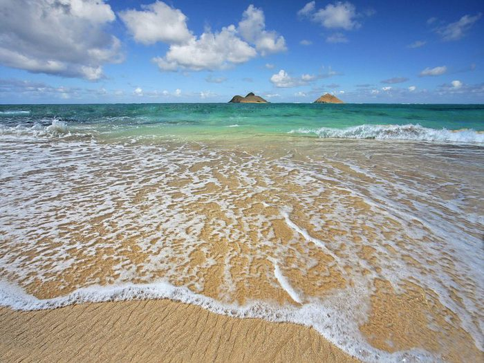 Lanikai Shoreline, Oahu, Hawaii (700x525, 93Kb)