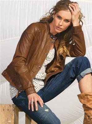 Mondial - кожаные куртки со скидкой.  Дата публикации 25.11.2010.