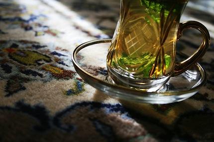 зелёный мятный чай (430x286, 47Kb)