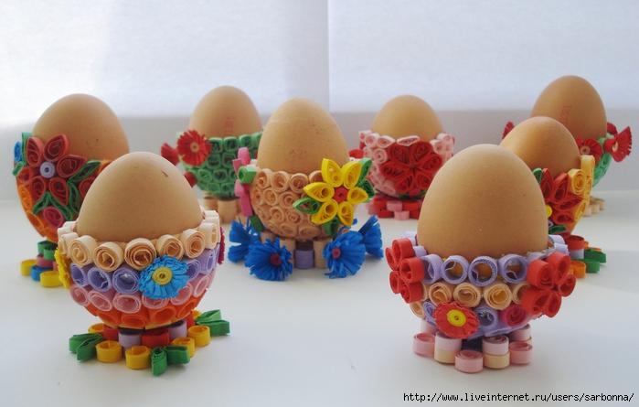 Подставочки для яиц.