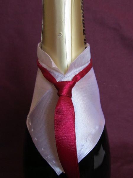 Сделать галстук для шампанского своими руками