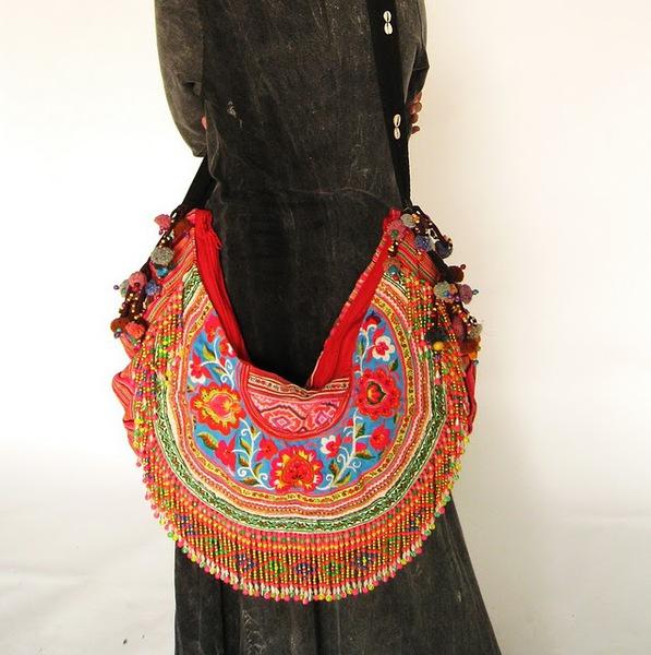 Bright Color Gypsy Boho Cross Body Bag 2 (597x600, 103Kb)