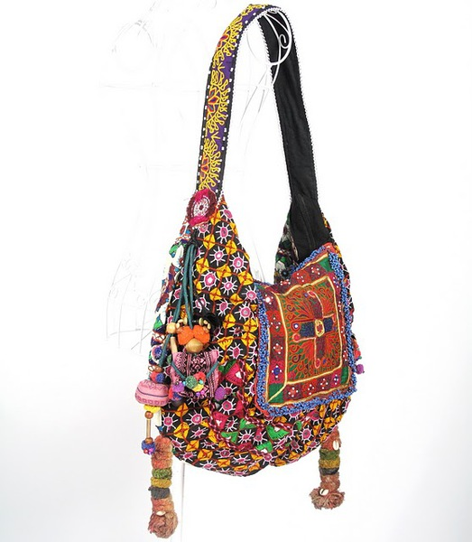 Bright Color Hippie Boho Vintage Fabric Bag 5 (523x600, 74Kb)