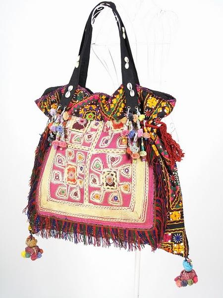Bright Color Oversize Hippie Boho Vintage Fabric Bag 5 (450x600, 87Kb)