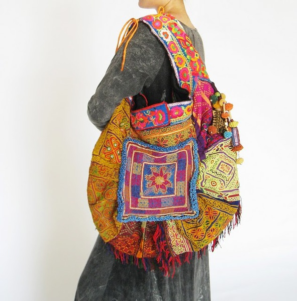 Hippie Boho Large Tote Bag 3 (591x600, 98Kb)