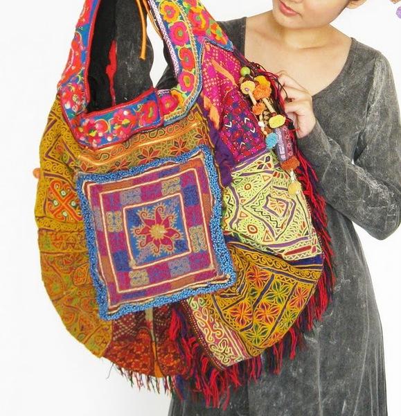 Hippie Boho Large Tote Bag 8 (579x600, 150Kb)