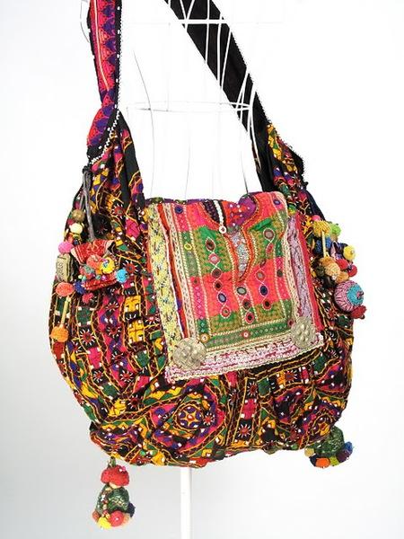 Hippie Boho Vintage Fabric Women Shoulder Bag 1 (450x600, 101Kb)