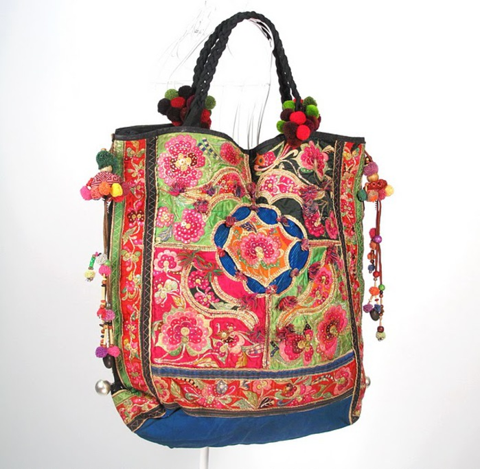 Oversize Hippie Boho Vintage Textile Bag 1 (700x683, 133Kb)