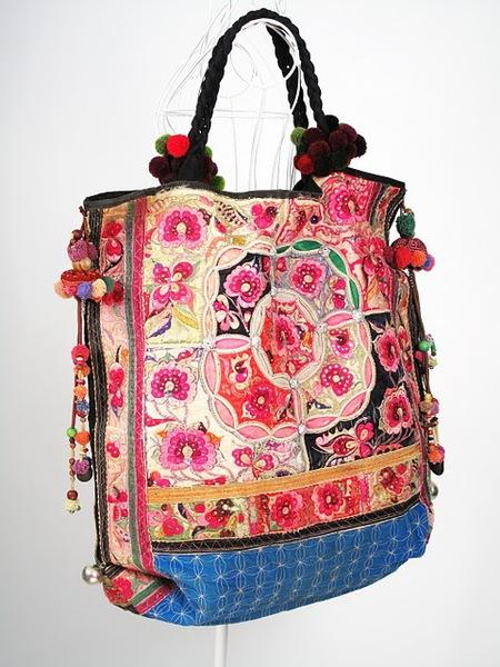 Oversize Hippie Boho Vintage Textile Bag 3 (450x600, 102Kb)