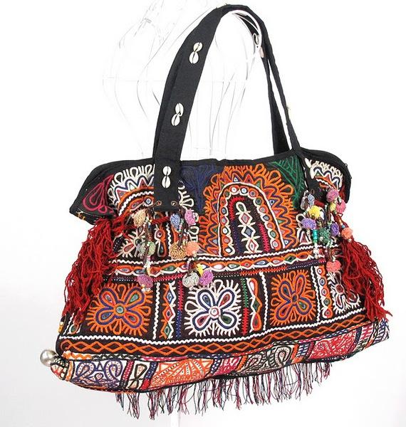 Tribal Vintage Fabric Women Shoulder Bag 5 (570x600, 132Kb)