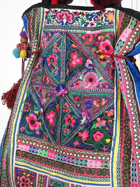 Tribal Vintage Textile Oversize Hippie Boho Bag 3 (450x600, 170Kb)