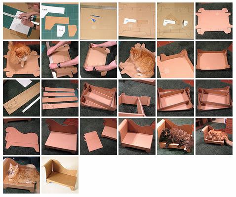 Как сделать диван своими руками из картона для кукол