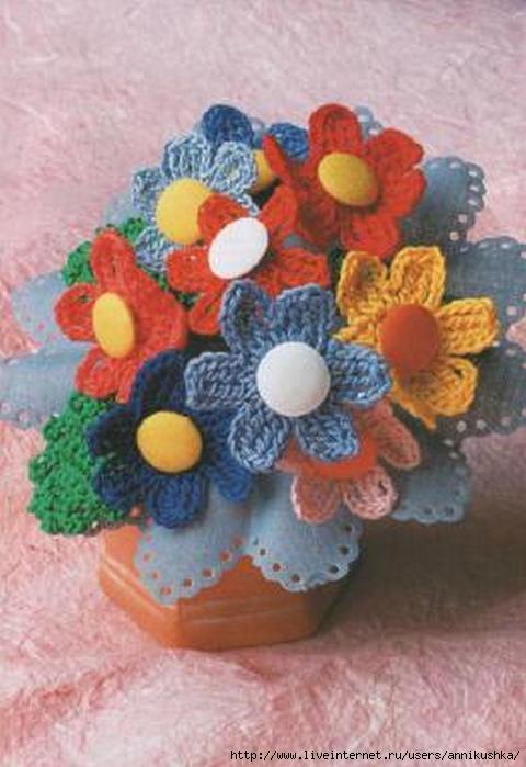 Цветы. Вяжем Крючком_3 (480x700, 137Kb)
