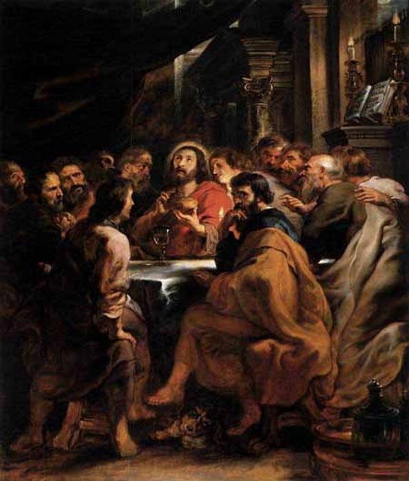 Тайная вечеря рубенса (594x700, 115Kb)