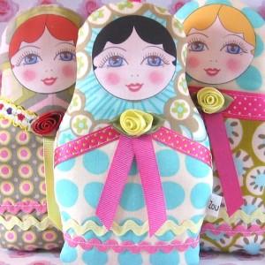 Куклы-матрешки своими руками