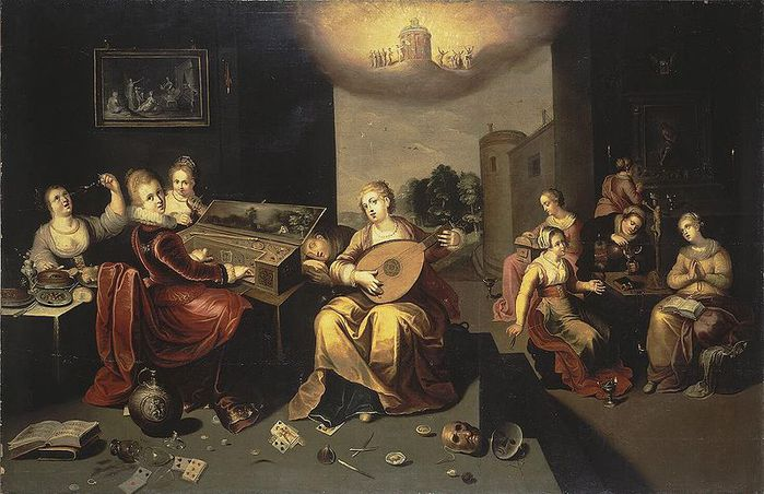 800px-Francken,_Hieronymus_the_Younger_-_Parable_of_the_Wise_and_Foolish_Virgins_-_c._1616 (700x452, 68Kb)