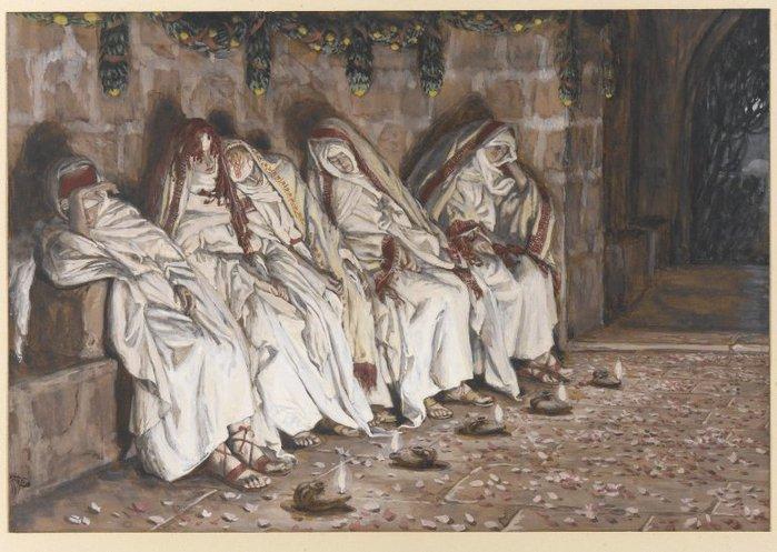 Brooklyn_Museum_-_The_Wise_Virgins_(Les_vierges_sages)_-_James_Tissot (700x497, 82Kb)