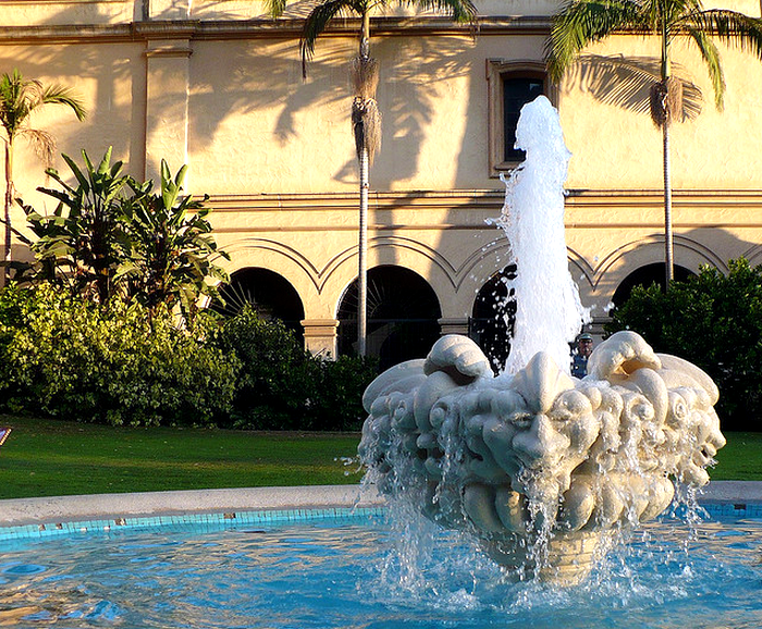 Fountain, Balboa Park  Flickr - Photo Sharing! (700x578, 1030Kb)