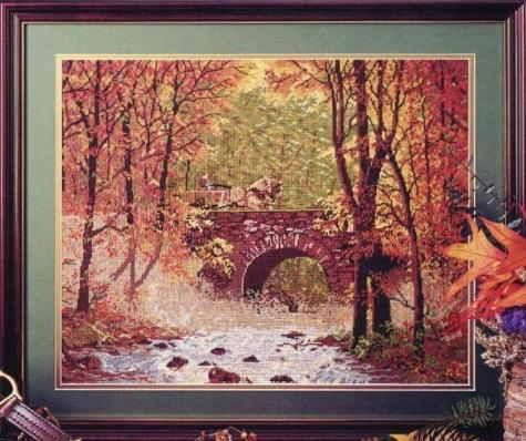 JCA 06010 Autumn Bridge (475x398, 48Kb)