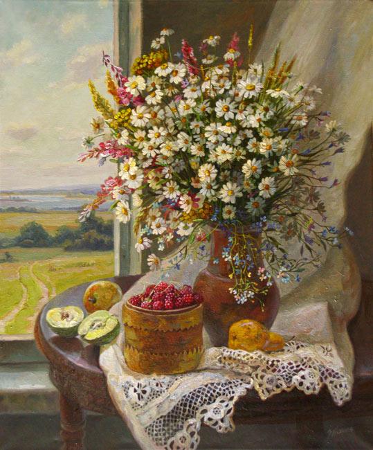 цветы худ.Эдуарда Панова.