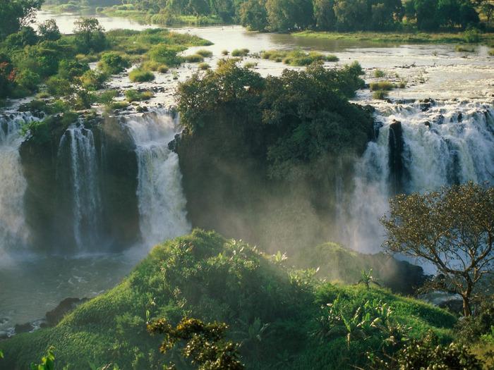 Blue Nile Falls, Ethiopia - 1600x1200 - ID 31689 (700x525, 169Kb)