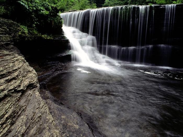 Greeter Falls, Cumberland Plateau, Tennessee - 1 (700x525, 147Kb)