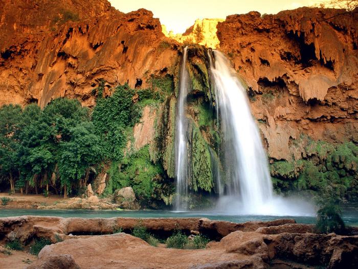Havasu Falls, Arizona - 1600x1200 - ID 34401 (700x525, 214Kb)
