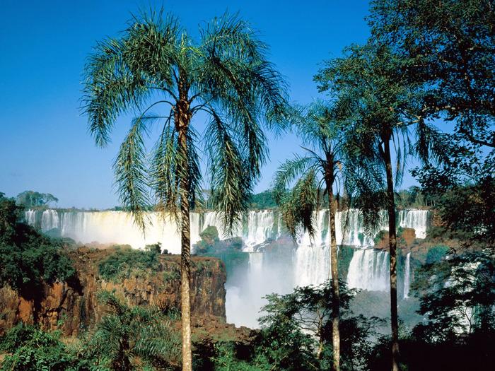 Iguassu Falls, Argentina - 1600x1200 - ID 25952 (700x525, 243Kb)