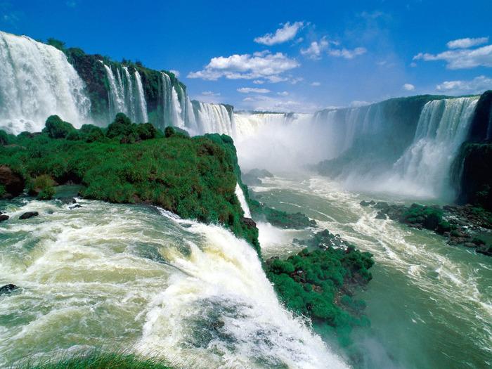 Iguassu Falls, Brazil - 1600x1200 - ID 40622 (700x525, 159Kb)