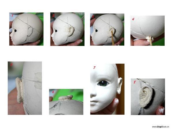Как сделать куклу из папье 546