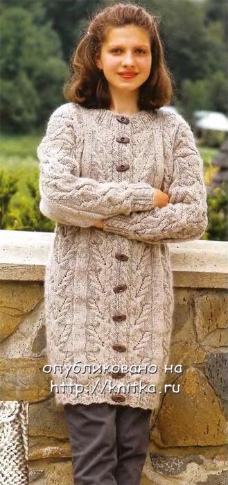 вязаное платье для девочки 1 год спицами с описанием для