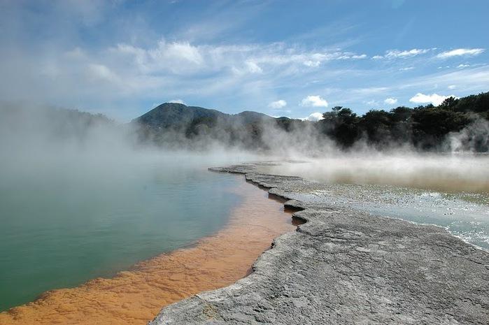 """Священные Воды, или """"Wai-O-Tapu"""" в Новой Зеландии. 67800"""