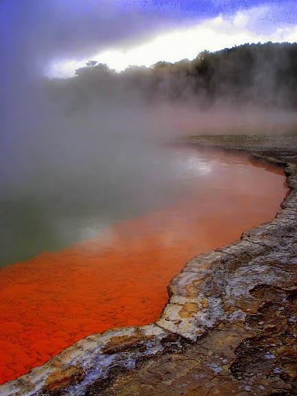 """Священные Воды, или """"Wai-O-Tapu"""" в Новой Зеландии. 53010"""