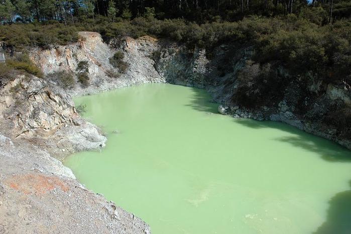"""Священные Воды, или """"Wai-O-Tapu"""" в Новой Зеландии. 11816"""